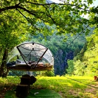 NUIT INSOLITE BULLE FORET GLAMPING (6)