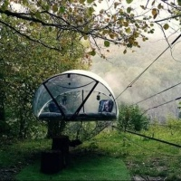 NUIT INSOLITE BULLE FORET GLAMPING